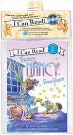 Fancy Nancy Sees Stars Book and CD